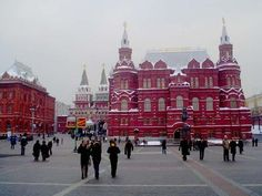 Moscow, beautiful architecture