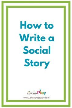Social Stories are a great tool to help kids manage difficult or confusing  situations. It's a way to give information about those situations,  including what is expected or what might happen in a simple, supportive and  reassuring way. Carol Gray initially defined and refined the process of  creating social stories. They can be particularly effective with kids who  are on the spectrum, but they can also be used with anyone who just needs a  little help to manage a situation or events. I've…
