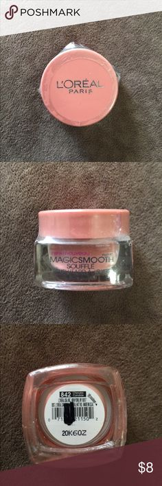 L'Oréal Paris Magic Smooth Soufflé Blush Blush in 842 Cherubic. Bought and never used. Plastic packaging still on. L'Oreal Makeup Blush