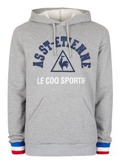 6ce85ee5d4f9 LE COQ SPORTIF Grey St. Etienne Hoodie