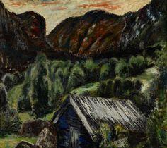 Henrik Sørensen, Telemarksnatt – Nasjonalmuseet – Samlingen Norway, Painting, Art, Art Background, Painting Art, Kunst, Gcse Art, Paintings, Painted Canvas