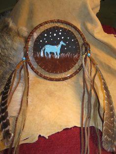 Medium Medicine Shield - Native American - CreekNationsTrading