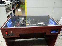 S7 Desk 2014 - unique pc desk  #custompc #pccase #pc #deskpc