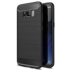 [US$5.82] Bakeey Carbon Fiber Anti Fingerprint TPU Case For Samsung S8 Plus  #anti #bakeey #carbon #case #fiber #fingerprint #plus #samsung