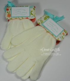 cute.  for holiday socks also for gifts. her video shows she did with st patty socks.