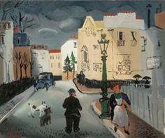 Street in Paris - Christopher Wood