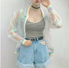 Pastel Grunge Spring Outfit Aesthetic