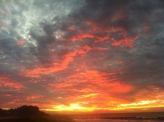 Sunset at San Pancho, Nay.