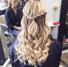 Abschluss Frisuren Lange Haare