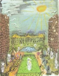 Madeline's  tour of Paris...This site takes you to 5 sites illustrated in the Madeline book series! : )