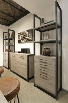 metallregale im industrial style furs wohn und esszimmer oder fur die kuche