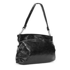 HOBO Candice black Leather Handbag