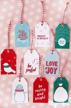 Printable holiday gift tags and star charm diy gift tags free printable gift tags negle Choice Image