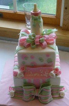 Baby shower cake idea ♥