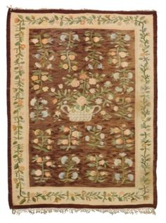A BESSARABIAN KILIM David Rockefeller, Types Of Rugs, Auction, Europe, Decor, Rugs, Decorating, Dekoration, Deco