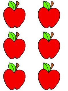 This Apple Name Tag is a free image for you to print out. Check out our Free Printable Name Tags today and get to customizing! Fraction Activities, Literacy Activities, Preschool Activities, Apple Theme Classroom, Classroom Themes, Abc Crafts, Daycare Crafts, 1st Year Teachers, Apple Template