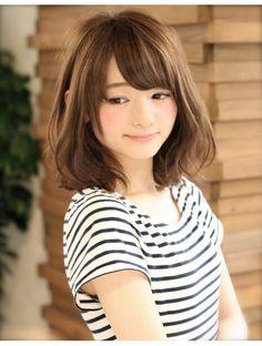 アフロート ルヴア 新宿(AFLOAT RUVUA)新宿・渋谷 AFLOAT2店舗で出勤しています!小顔ミディアムパーマ