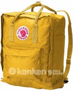 Warm Yellow Kanken Classic - de leukste rugzakken!