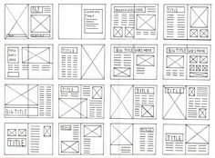 Basic Layout Grids – PATRICIA GOMEZ The grid provides a structured framework for a layout, the grid should not limit design or kill the creativity . Rather than forcing you to work rigidly within its confines, the grid layout should … Design Web, Page Layout Design, Graphic Design Layouts, Grid Design, Design Posters, Grid Graphic Design, Design Ideas, Magazine Page Layouts, Mise En Page Magazine