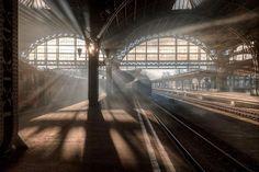 "steampunktendencies: "" Vitebsky Railway Station, Saint Petersburg, Russia """