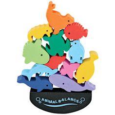 animal balance erasers