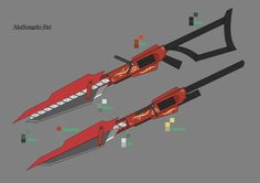 Scarlet Weapon Design by shelbybl.deviantart.com on @DeviantArt