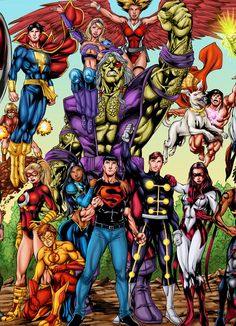 Três anos atrás, pedi a meu amigo e artista José Luís ( TEEN TITANS, RED TORNADO ) para trabalhar em um pôster dos Titãs para mim. Se... Arte Dc Comics, Dc Comics Superheroes, Old Comics, Best Cartoon Characters, Dc Comics Characters, Teen Titans, Dc Comics Collection, Old Comic Books, Legion Of Superheroes
