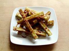 Berenjenas fritas con miel de caña - Isasaweis