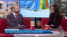 """Blair Mantin, Vancouver Licensed Insolvency Trustee and Vice-President of Sands & Associates talks about the """"Minimum Payment Math"""" realities many Canadians face with Global News, and explains what consumers can do about it. Get Out Of Debt, Global News, Sands, Presidents, Highlights, Math, Learning, Math Resources, Studying"""