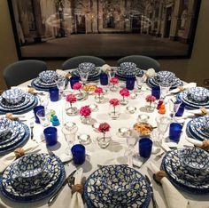A super supper set-up | Hayley Bloomingdale on Instagram