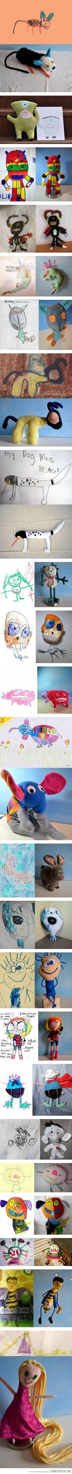 Bring Children's artworks to life