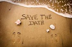 "For Your Save the Date | 63 Ideas For Your ""Little Mermaid"" Wedding"