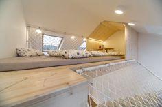 Трехуровневая спальня