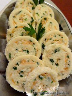 Canapés de Salmão Defumado com Cream Cheese