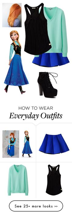 """""""Anna's everyday outfit"""" by xxcleabearxx on Polyvore"""