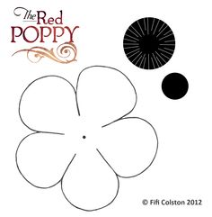 Poppy Flower Template / Paper Plate Poppies from Australia where their day of remembrance is called Anzac Day : Anzac day poppy craft for kids using paper plates. Remembrance Day Activities, Remembrance Day Poppy, Poppy Template, Flower Template, Bunting Template, Leaf Template, Templates, Poppy Craft For Kids, Crafts For Kids