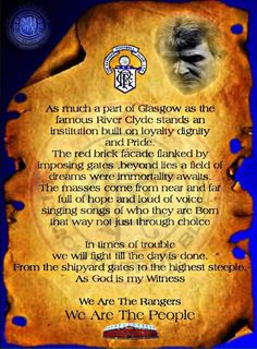 Rangers Football, Rangers Fc, Teddy Bears, Glasgow, Beautiful Words, Icons, Club, Board, Nice Words