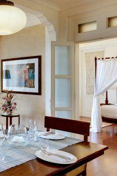 The ocean suites of Heritage Le Telfair Golf & Spa resort in #Mauritius  #Hotel #InteriorDesign #Mauritius