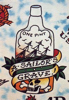 Sailor jerry artwork