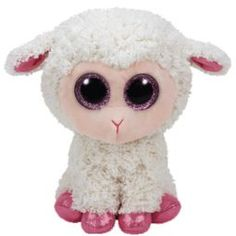 TY Beanie Boos - TWINKLE the Lamb (Glitter Eyes) (Regular Size - 6 in) (Pre-Order ships Spring)