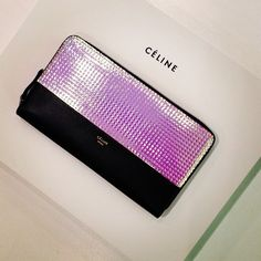Holographic Celine - I would kill the fuck out of this wallet.