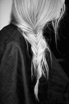 Side Braid - How To Cope With Going Grey Early | Dying Grey Hair | Grey Hair…