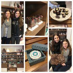 Minhas entrevistadas, as irmãs Gabriela e Daniela da Sucrier Sucré et Chocolat.   http://zankyou.terra.com.br/p/entrevistas-100-deliciosas-e-propostas-originais-para-sua-mesa-de-doces-61742