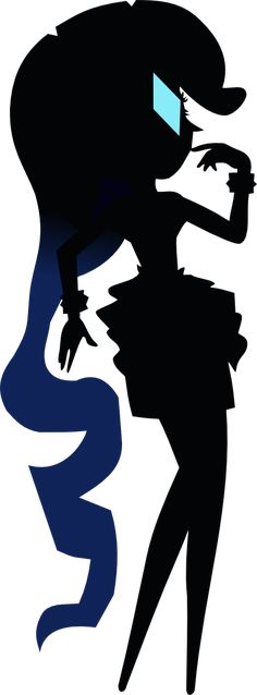 Rarity Silhouette Vector by MyLittleAppleBloom on DeviantArt