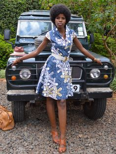 Diane Dress -Africa Kitenge  #kitenge #africa #dress #africanfashion #fashion #nairobi #africandress #kenya #kitengedress  http://njemahelena.tictail.com/product/diane-dress-grey
