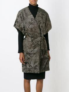 Ив Саломон куртки из овчины с короткими рукавами - Jofre - Farfetch.com