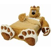 Found it at Wayfair - Cozy Cuddly Comfort Blankie with Honey Brown Bear Signature