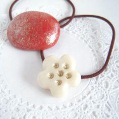 陶器のようなヘアゴムの作り方! - 簡単DIY!「ハンドメイドアクセサリーの作り方」 numakoのブログ