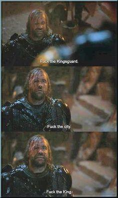 Sandor Clegane  -  All.  Day.  Long....
