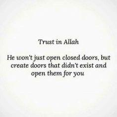 Trust in Allah. Allah Quotes, Muslim Quotes, Quran Quotes, Religious Quotes, Hindi Quotes, Arabic Quotes, Qoutes, Islamic Inspirational Quotes, Islamic Quotes